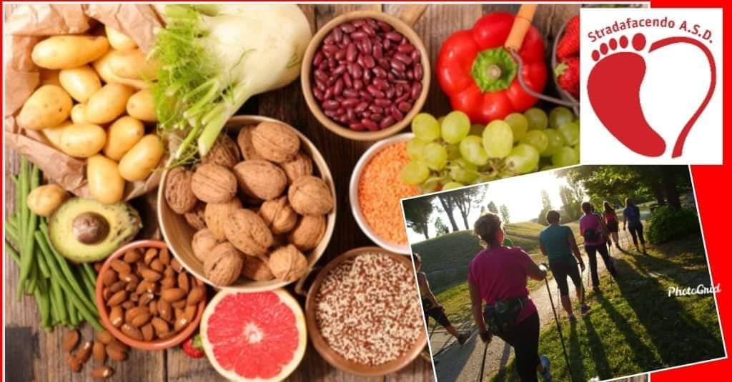 Mercoledì 2 ottobre 2019 – Non solo Nordic Walking! Parliamo di alimentazione