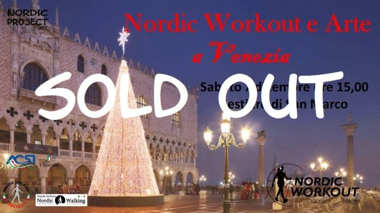 Sabato 7 dicembre 2019 – Stradafacendo a Venezia: Nordic Workout & Arte