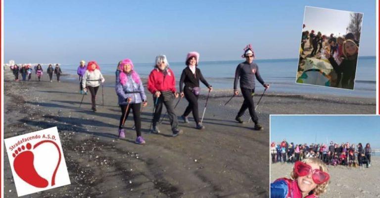 Domenica 9 febbraio 2020 – Carnevalando a Cervia a passo di nordic walking