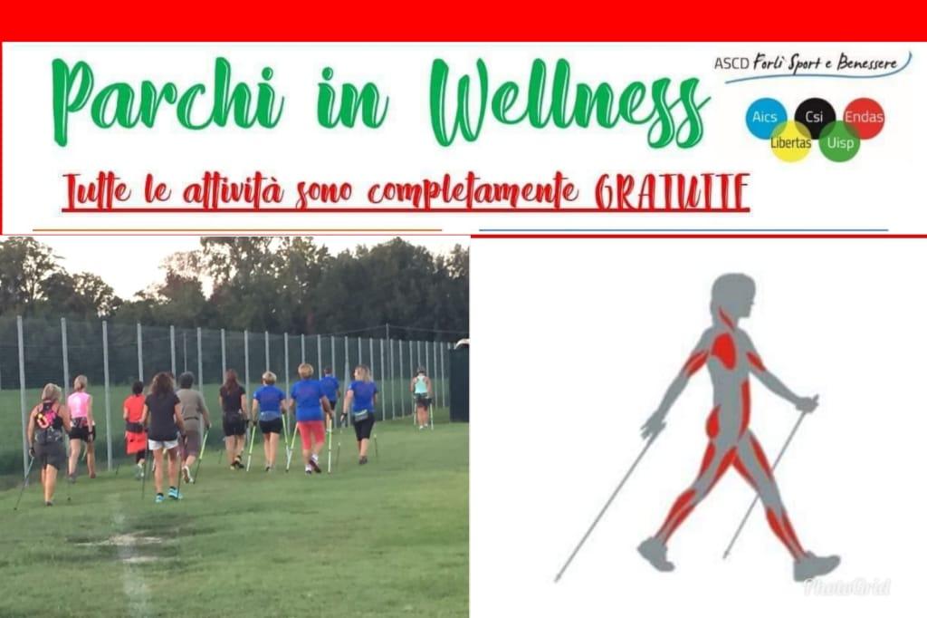 Ogni martedì dal 25 Giugno al 30 Luglio – Parchi in Welness Forlì presso il Parco Via Dragoni