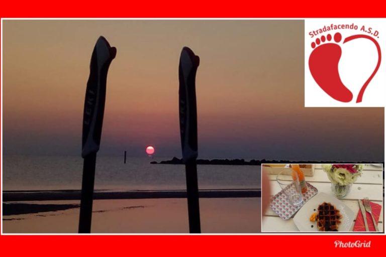 Domenica 4 agosto 2019 – Nordic Walking all'alba a Lido di Classe