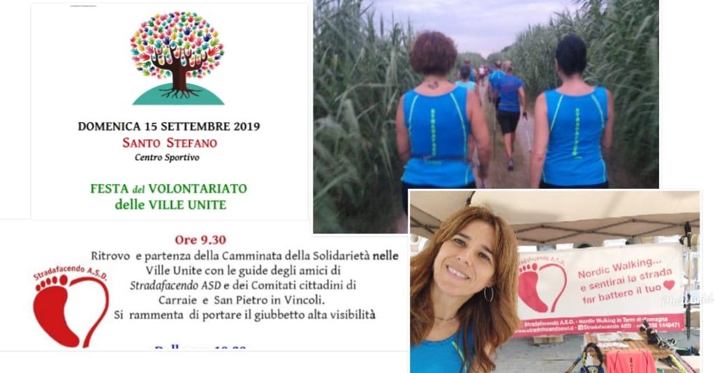 Domenica 15 settembre 2019 – Camminata della Solidarietà facendo nordic walking