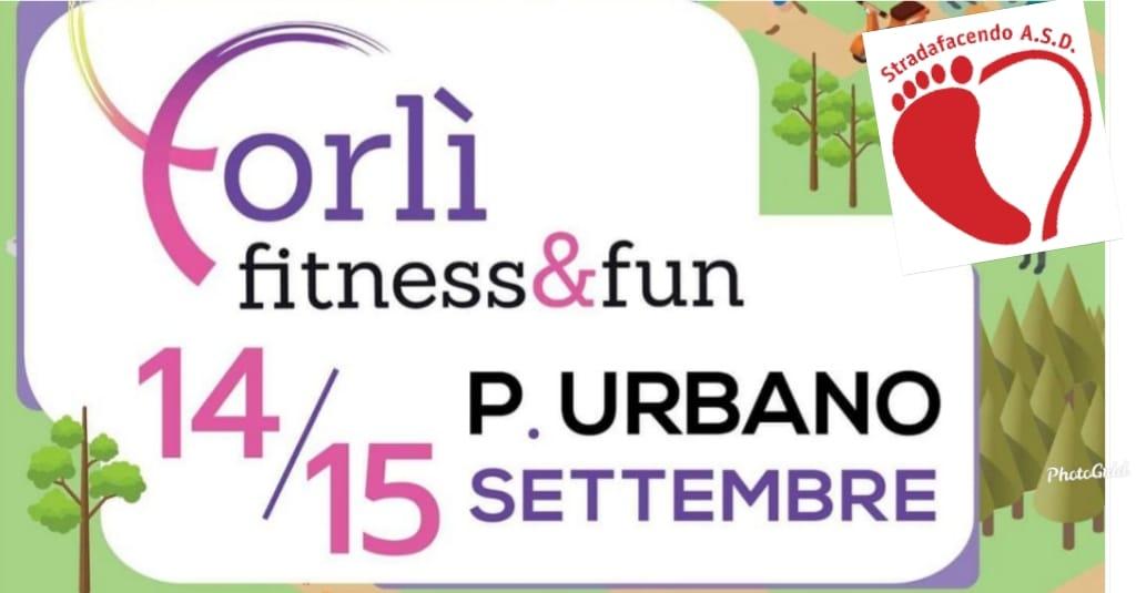 """Sabato 14 settembre 2019 – Dimostrazione gratuita nordic walking a """"Forlì Fitness&Fun 2019"""""""