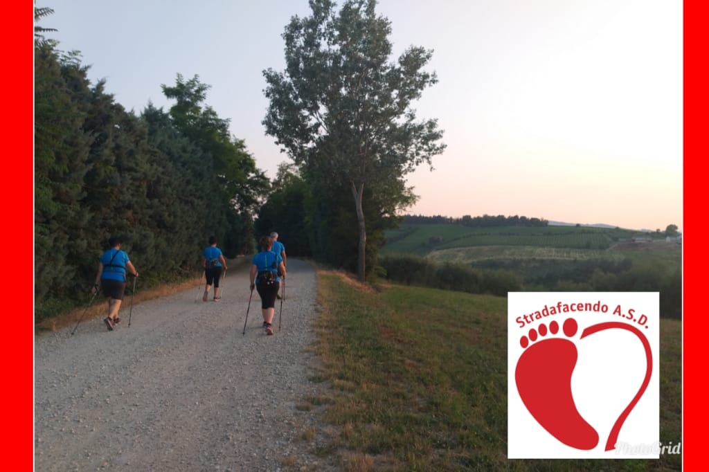 Sabato 7 settembre 2019 – Nordic Walking all'alba a Monte Poggiolo